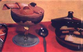 Eisbecher Schokolade