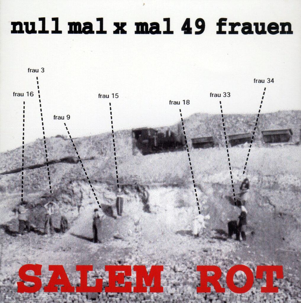 CD Cover null mal x mal 49 frauen