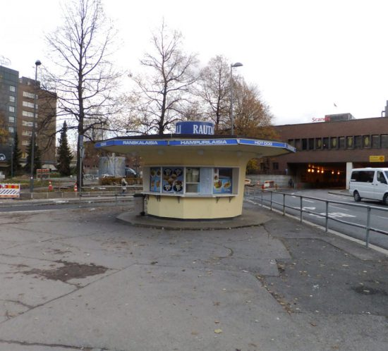 Blog Meet the germans, Kiosk in Helsinki, Finnland