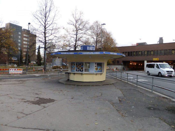 Blog Meet the germans, Kiosk in Helsinki, Finnland